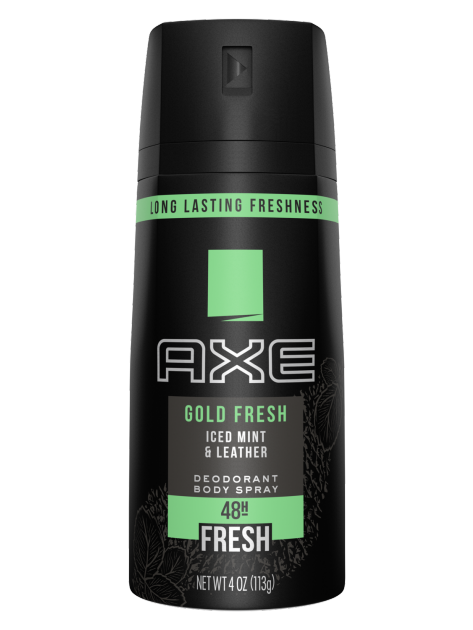 Axe Gold Fresh Body Spray